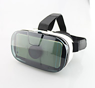 """realidad virtual caja de gafas 3D VR marca de lujo FIIT vr google gafas 3d de cartón fisura óculo de 4.0 teléfono inteligente """"~ 6"""""""