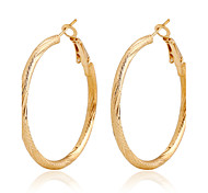 Earring Crystal / Imitation Diamond Drop Earrings Jewelry Women Wedding / Party / Daily / Casual Alloy 1set Gold
