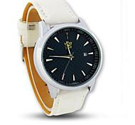 reloj de la manera neutra reloj del reloj de cuarzo resistente al agua de la muñeca de los viajeros de negocios y de ocio contratados