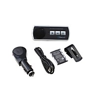 car kit vivavoce bluetooth agganciato alla macchina parasole, Bluetooth 3.0 in grado di supportare due telefoni contemporaneamente