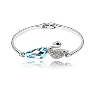 Swan Bracelets High Quality Silver And Gold Plated Fashion Jewelry Nickel Free Women Accessories