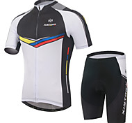XINTOWN Breathable Cycling Bike Short Sleeve Jersey Shorts Set Bicycle Sportswear Clothing Suit S-3XL