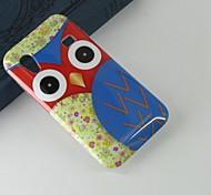 rode uil patroon pc bescherming van de harde Cover Case voor Samsung Galaxy Ace S5830