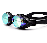 Swimming Goggles Waterproof Silica Gel PC White Black Blue Dark Blue Yellow Pink Black Blue Dark Blue