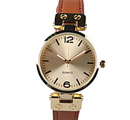 Foreign Trade Fashion Slim Leather Strap Watch