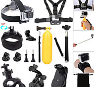 Accessories For GoPro Monopod / Buoy / Suction Cup / Straps / Clip / Hand Grips/Finger Grooves / Balaclavas / Mount/HolderWaterproof /