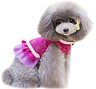 Dog Dress Blue Spring/Fall Fashion