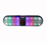 Portable Wireless Bluetooth Speaker LED Bluetooth Loudspeaker Support U-disk and TF card FM Stereo Speakers For iphone