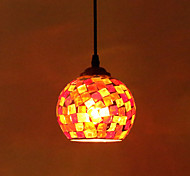 Max 60W Modern/Contemporary Painting Metal Pendant Lights Bedroom / Dining Room / Kitchen