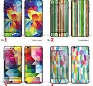"""iPhone 6 / 6s cuerpo adhesivo arte: """"el patrón de colores"""" (serie de colores)"""