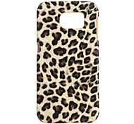 Leopard Print PC Back Cover for Samsung Galaxy S7 Edge