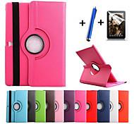 Para con Soporte / Flip / Rotación 360º Funda Cuerpo Entero Funda Un Color Dura Cuero Sintético Samsung Tab S 8.4 / Tab S 10.5