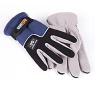 AOTU® Sports Gloves Women's / Men's Cycling Gloves Autumn/Fall / Winter Bike Gloves Keep Warm / Anti-skidding Full-finger Gloves Polyester