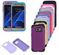 Bumper Back Cover Full Body Cases for Samsung Galaxy S7 edge/Galaxy S7