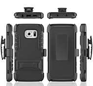 PC Back Cover Cases with Stand Bumper Full Body Cases for Samsung Galaxy S7/S7 edge