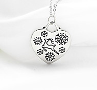 Moment Of The English Letter Christmas Merry Christmas New Deer Necklace