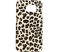 Leopard Print PC Back Cover for Samsung Galaxy S7edge+