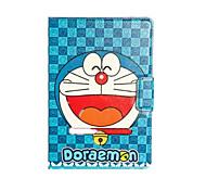 doraemon smiler Fall mit Ständer und Kartensteckplatz für ipad Luft / ipad 5