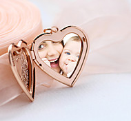 Fashion Watch Box Explosion Phase Smooth Heart Necklace