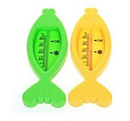 Fish Type Thermometer Child Thermometer Wet and Dry Baby Bath Water Thermometer(Ramdon Color)