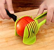 1 Pças. Apple / Laranja / Batata / tomate / Limão Cutter & Slicer For Vegetais Plástico Gadget de Cozinha Criativa / Novidades
