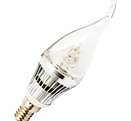 5W E14 Luzes de LED em Vela T 3 SMD 400-500 lm Branco Frio AC 220-240 V 1 pç