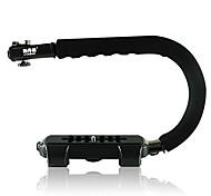 sidande forme c stabilisant support de support de flash vidéo de poche prise pour DSLR mini caméra dv caméscope VCT-sb-c001