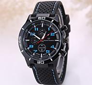 Men's fashion silicone watches Wrist Watch Cool Watch Unique Watch