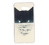 Black Cat Pattern TPU Soft Case Phone Case for Samsung Galaxy A3/A5/A7/A3 10/A510/A710