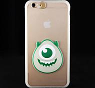 For iPhone 6 Case / iPhone 6 Plus Case Glow in the Dark / Transparent Case Back Cover Case Cartoon Hard PCiPhone 6s Plus/6 Plus / iPhone
