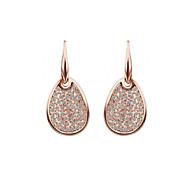 Full Austria Crystal Drop Earrings for Women Elegant Earrings Fashion Jewelry Accessories