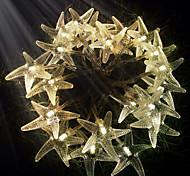 King Ro 30LED Starfish Battery Led String Light Outdoor Waterproof String Light(KL0022-RGB,White,Warm White)