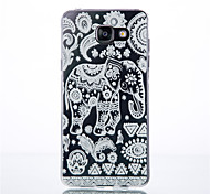 Elephant Pattern TPU Phone sets For Galaxy A3/A9/A310/A510/A710