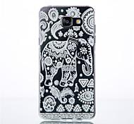 Elephant Pattern TPU Phone sets For Galaxy A3/A9/A310/A510/A710