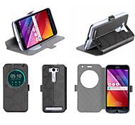 "Flip Leather cellphone Case Cover Holder Stand For ASUS Zenfone2 Laser ZE500kl 5"""