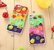 fruit-1 TPU volta caso para iphone6,6s (cores sortidas)
