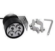 20W LED Spot Light Headlight for 12V-85V Motorcycle Automobile Spigot Holder
