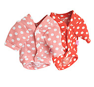 Dog Coat Orange / Pink Dog Clothes Winter Fashion