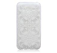 White Flowers Pattern TPU Material Phone Case for Samsung Galaxy J1/J1 Ace/J2/J3/J5/J7