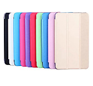 Folding Leather Case Spun Gold Fashion PU Tablet Computer Protection Shell for Samsung TAB T377 E 8.0 Assorted Colors