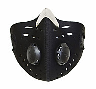 Bike/Cycling Face Mask/Mask Unisex Breathable / Dust Proof / Windproof / Limits Bacteria Nylon / Chinlon Black Free SizeCamping & Hiking