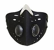Bike/Cycling Face Mask/Mask Unisex Breathable / Dust Proof / Windproof / Limits Bacteria Nylon / Chinlon Black Free SizeCamping & Hiking