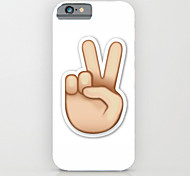 Hand Posture Pattern PC Phone Case Hard Back Case Cover for iPhone6/6S Plus