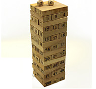 Wooden Number Blocks Puzzle Games Domino  Board Games Brain Games