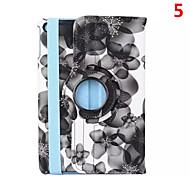2016 venta caliente mezcló el color de la PU del soporte del cuero Origami caso a prueba de golpes para el mini ipad 4