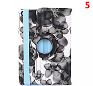 2016 venda quente cor misturada pu origami couro Stand Case à prova de choque para ipad mini-4