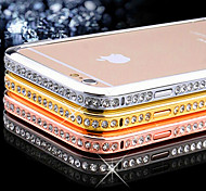 The Metal Frame With Diamond Diamond Drill Shell For Apple Iphone6 Plus/6Splus