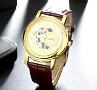 Fashion Business Leather Men Quartz Watch