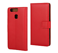 Luxury PU Leather case cover  with Wallet Card Slot Case  for Huawei P9