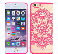 Color Embossed Flowers TPU+PC Mobile Phone Protection Shell China Style for iPhone 6/6S 4.7""